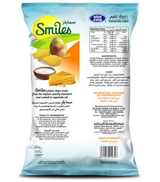 SMILES - CHEDDAR & SOUR CREAM