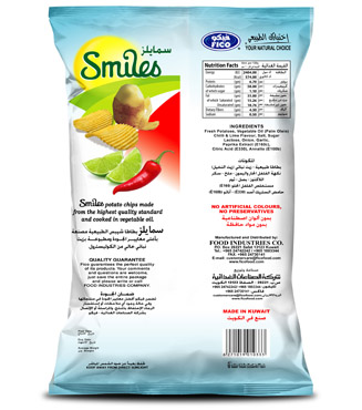 SMILES - CHILLI & LIME