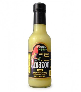 AMAZON HOT SAUCE GREEN 98ML